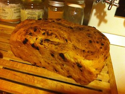 Pane al miele e frutta secca