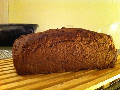 Pane dolce cacao e castagne