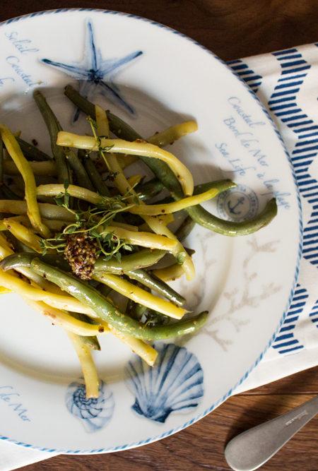 Fagiolini al timo in padella ricetta