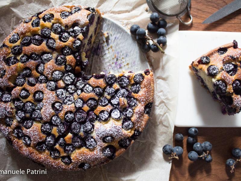 Torta alla uva fragole ricetta