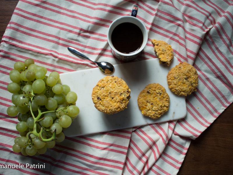 Cookie corn flakes e berry ricetta