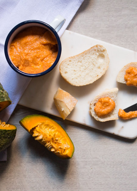 Hummus di zucca ricetta