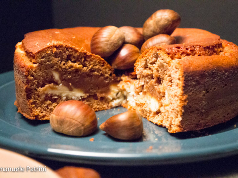 Torta alle castagne e cioccolato bianco ricetta