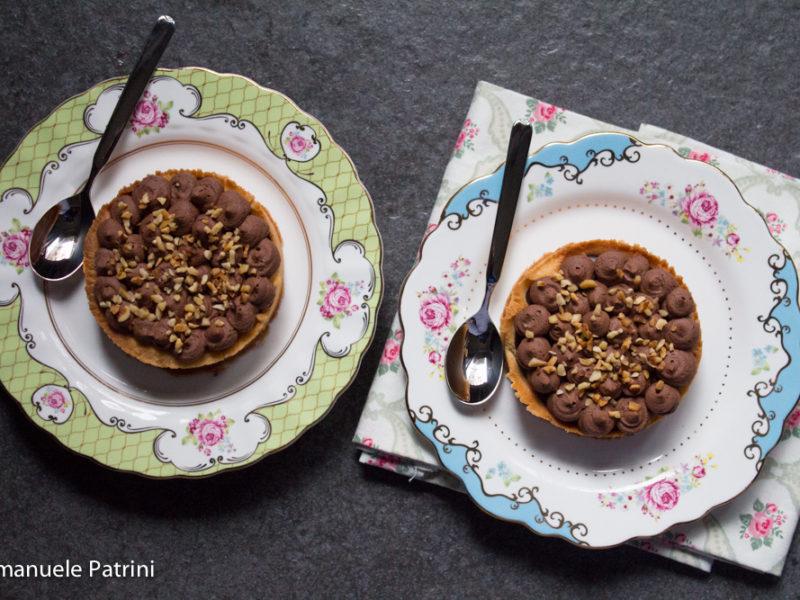 Torta ganache e crema al cioccolato ricetta