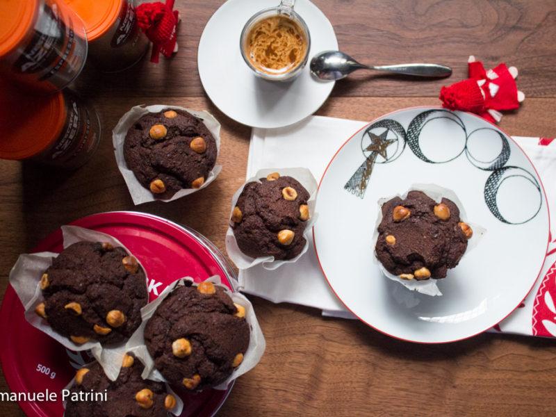 Chocolate coffee muffin ricetta