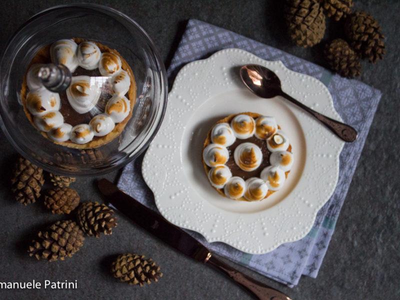 Torta marroni e meringa ricetta