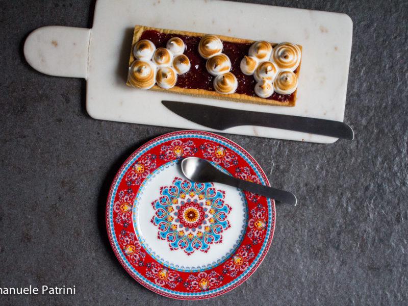 Torta fichi e meringa ricetta