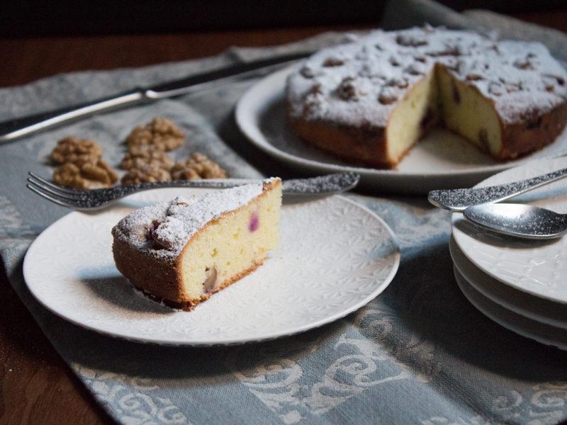 Muffin cake yogurt e mirtilli ricetta