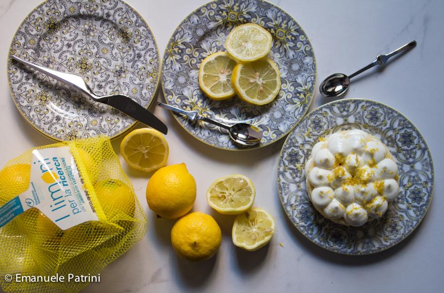 Torta alla crema al limone per la ricerca ricetta