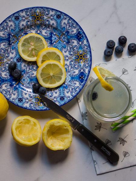 Acqua depurativa limone ricetta