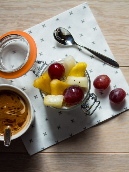 Healthy breakfast semi di chia ricetta