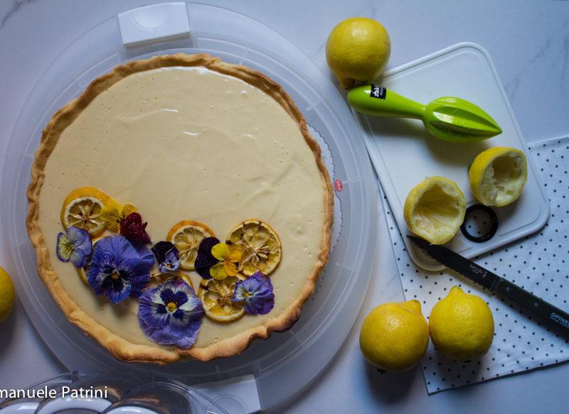 Torta crema ai limoni ricetta